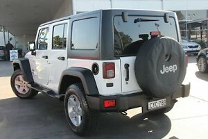 2015 Jeep Wrangler JK MY2015 Unlimited Sport White 5 Speed Automatic Softtop Penrith Penrith Area Preview