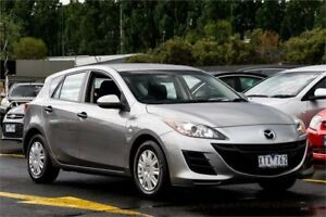2010 Mazda 3 BL10F1 Neo Silver 6 Speed Manual Hatchback Ringwood East Maroondah Area Preview
