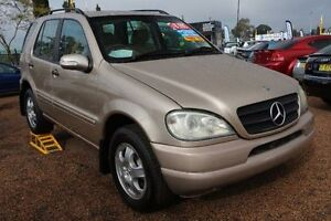2004 Mercedes-Benz ML270 CDI W163 MY04 Luxury Champagne 5 Speed Sports Automatic Wagon Colyton Penrith Area Preview