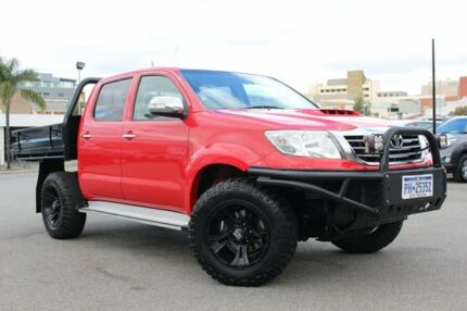 2013 Toyota Hilux KUN26R MY14 SR5 Double Cab Red 5 Speed Manual Utility