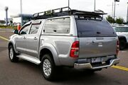 2014 Toyota Hilux KUN26R MY14 SR5 Double Cab Silver 5 Speed Automatic Utility Strathmore Moonee Valley Preview