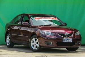 2007 Mazda 3 BK10F2 Maxx Purple 4 Speed Sports Automatic Sedan Ringwood East Maroondah Area Preview