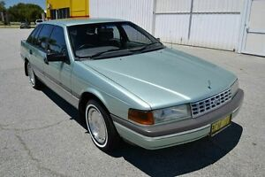 1990 Ford Fairlane NAII Ghia As New Green 4 Speed Automatic Sedan East Rockingham Rockingham Area Preview