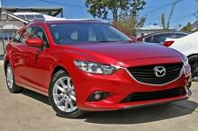 2013 Mazda 6 GJ1031 Sport SKYACTIV-Drive Red/Black 6 Speed Auto Seq Sportshift Wagon Yeerongpilly Brisbane South West Preview