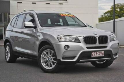 2012 BMW X3 F25 MY0412 xDrive20i Steptronic Silver 8 Speed Automatic Wagon