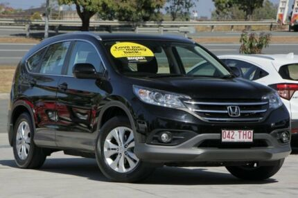 2013 Honda CR-V RM VTi-S 4WD Black 5 Speed Automatic Wagon