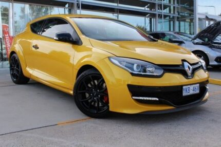 2014 Renault Megane III D95 Phase 2 R.S. 265 Cup Yellow 6 Speed Manual Coupe Belconnen Belconnen Area Preview