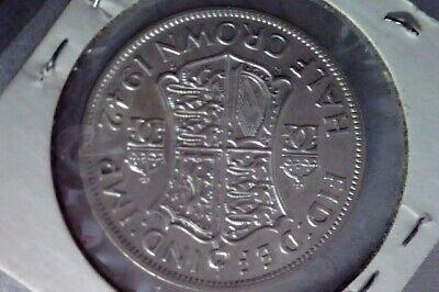 1942 British Half Crown UNC. .500 Silver