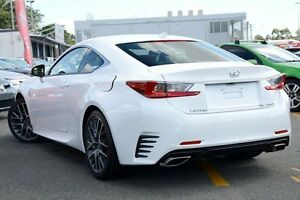 2016 Lexus RC ASC10R RC200t Sports Luxury White 8 Speed Sports Automatic Coupe Wavell Heights Brisbane North East Preview