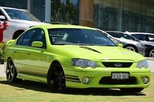 2005 Ford Falcon BF XR8 Green 6 Speed Manual Sedan Wangara Wanneroo Area Preview