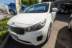 2015 Kia Carnival YP MY15 S Clear White 6 Speed Sports Automatic Wagon Slacks Creek Logan Area Preview