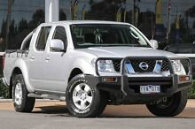2011 Nissan Navara D40 ST Silver 6 Speed Manual Utility Ferntree Gully Knox Area Preview
