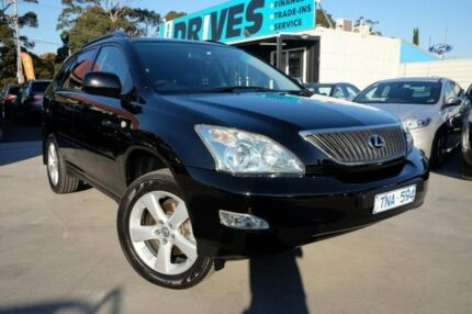 2005 Lexus RX330 MCU38R MY05 Sports Luxury Black 5 Speed Sports Automatic Wagon Dandenong Greater Dandenong Preview