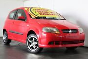 2006 Holden Barina TK Red 5 Speed Manual Hatchback Underwood Logan Area Preview