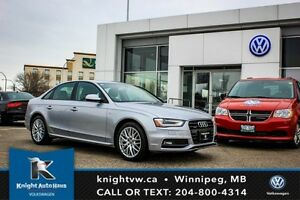 2015 Audi A4 Quattro AWD S Line w/ Leather/Sunroof