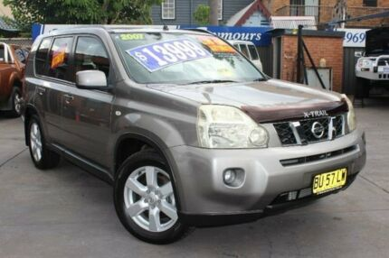 2007 Nissan X-Trail T31 TI Silver Constant Variable Wagon