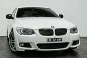 2013 BMW 325I E92 MY1112 Steptronic White 6 Speed Sports Automatic Coupe Rozelle Leichhardt Area Preview