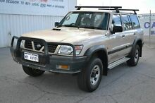 1998 Nissan Patrol GU ST Gold 5 Speed Manual Wagon East Rockingham Rockingham Area Preview