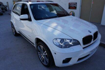 2011 BMW X5 E70 xDrive30d White Sports Automatic Wagon