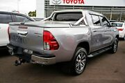 2017 Toyota Hilux GUN126R SR5 Double Cab Grey 6 Speed Manual Utility Mill Park Whittlesea Area Preview