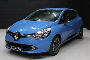 2013 Renault Clio Blue Sports Automatic Dual Clutch Hatchback Knoxfield Knox Area Preview