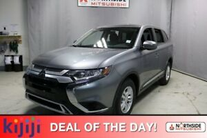 2019 Mitsubishi Outlander ES AWD HEATED SEATS, CRUISE CONTROL, B
