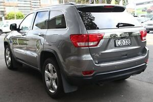 2012 Jeep Grand Cherokee WK MY12 Overland (4x4) Grey 5 Speed Automatic Wagon Mosman Mosman Area Preview