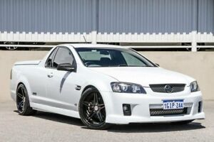 2009 Holden Commodore VE MY09.5 SS White 6 Speed Manual Utility