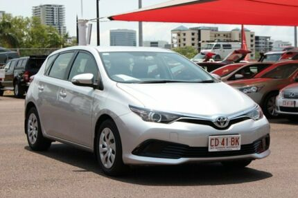 2016 Toyota Corolla ZRE182R Ascent S-CVT Silver Pearl 7 Speed Automatic Hatchback The Gardens Darwin City Preview