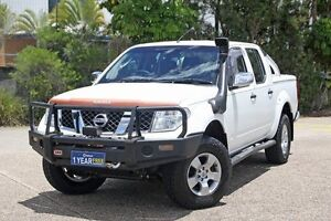 2006 Nissan Navara D40 ST-X White 5 Speed Automatic Utility Underwood Logan Area Preview