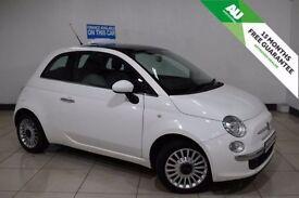 FIAT 500 1.2 LOUNGE 3d 69 BHP (white) 2009