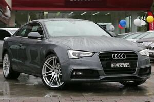 2014 Audi A5 8T MY14 S Line S tronic quattro Competition Grey 7 Speed Sports Automatic Dual Clutch Waitara Hornsby Area Preview