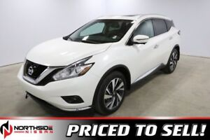 2018 Nissan Murano AWD PLATINUM HEATED SEATS, 20 WHEELS, APPLE C