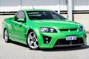 2008 Holden Commodore VE SS-V Green 6 Speed Automatic Utility