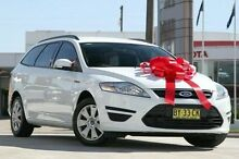 2014 Ford Mondeo MC LX PwrShift TDCi White 6 Speed Sports Automatic Dual Clutch Wagon Pennant Hills Hornsby Area Preview