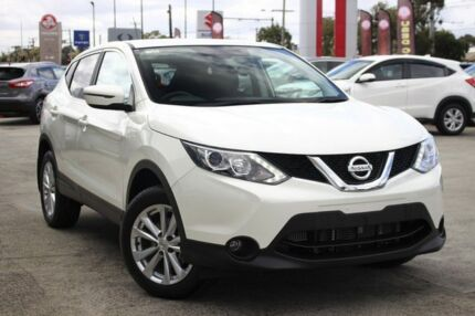 2016 Nissan Qashqai J11 TS Ivory Pearl 1 Speed Constant Variable Wagon