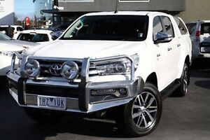 2015 Toyota Hilux GGN25R MY14 SR5 (4x4) White 5 Speed Sports Automatic Utility Frankston Frankston Area Preview