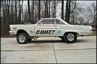 Arnie Beswicks 1965 Comet 1/25th scale model car decal
