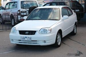 2004 Hyundai Accent LC MY04 GL White 4 Speed Automatic Hatchback Heatherton Kingston Area Preview