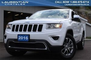 2016 Jeep Grand Cherokee LIMITED-LEATHER+4X4+BACKUP CAM+CHROME A