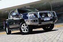 2013 Nissan Navara  Blue Sports Automatic Utility St James Victoria Park Area Preview