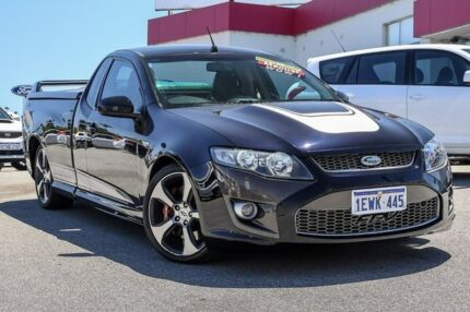 2008 Ford Performance Vehicles Super Pursuit FG Black 6 Speed Manual Utility Myaree Melville Area Preview