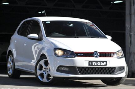 2011 Volkswagen Polo 6R MY11 GTI White 7 Speed Automatic Hatchback Mosman Mosman Area Preview