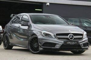 2014 Mercedes-Benz A45 176 AMG Grey 7 Speed Auto Dual Clutch Hatchback Petersham Marrickville Area Preview