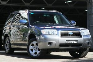 2007 Subaru Forester X COLUMBIA X Columbia Blue 5 Speed Manual Wagon Mosman Mosman Area Preview