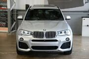 2015 BMW X3 F25 LCI MY0414 xDrive30d Steptronic Silver 8 Speed Sports Automatic Wagon Albion Brisbane North East Preview