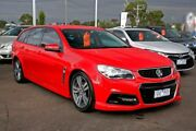 2014 Holden Commodore VF MY14 SV6 Sportwagon Red 6 Speed Sports Automatic Wagon Mill Park Whittlesea Area Preview