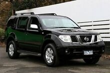 2007 Nissan Pathfinder R51 MY07 ST-L Black 5 Speed Sports Automatic Wagon Ringwood East Maroondah Area Preview