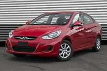 2014 Hyundai Accent RB2 Active Red 4 Speed Sports Automatic Sedan Berwick Casey Area Preview
