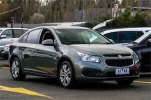 2015 Holden Cruze JH Series II MY16 Equipe Grey 6 Speed Sports Automatic Sedan Ringwood East Maroondah Area Preview